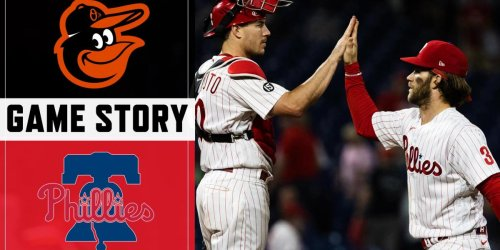 Phillies take series from pesky O's in dramatic fashion