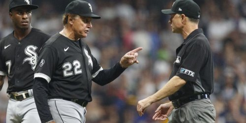 La Russa, TA ejected as Sox 'flare up' vs. Brewers