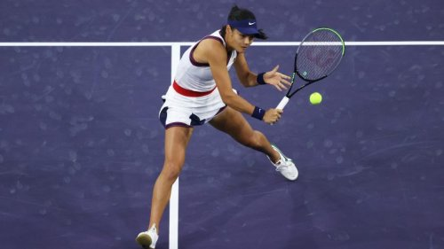 Raducanu beats Hercog in Romania for 1st win since U.S. Open