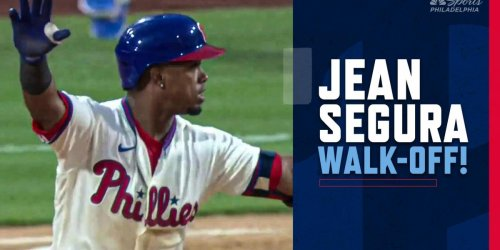 THIRD STRAIGHT WALK-OFF! JEAN SEGURA THE HERO AGAIN