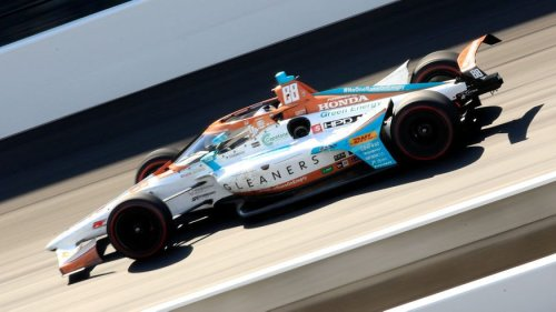 Marco Andretti, Gleaners Food Bank team up for Indy 500