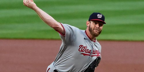 Rizzo not concerned about Strasburg after bad start