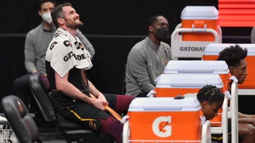 Report: Cavaliers hope to trade Kevin Love