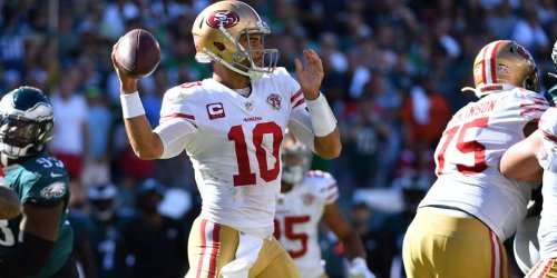 How PFF graded Jimmy G, 49ers in Week 2 win over Eagles