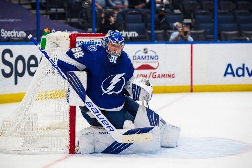 Andrei Vasilevskiy ties league lead for goalie points in Lightning win