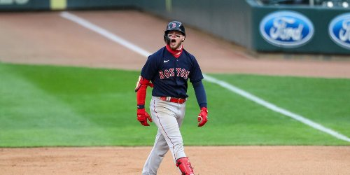 Alex Verdugo takes over in Red Sox' doubleheader sweep
