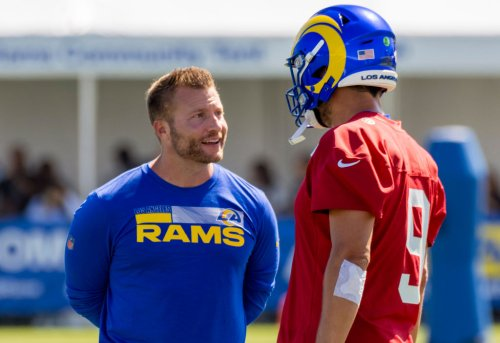 FMIA: NFL Training Camp Tour Begins With Hugs In L.A., 'Some Balls' In San Francisco And A Mystery In Las Vegas