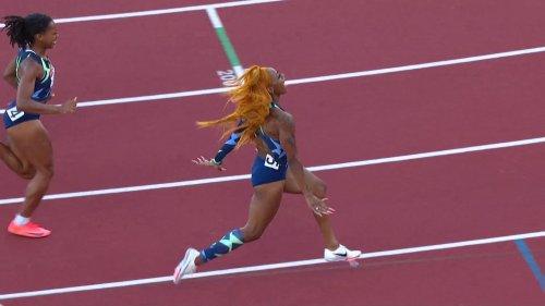 Track & Field Trials: Sha'Carri Richardson wins 100m, qualifies for