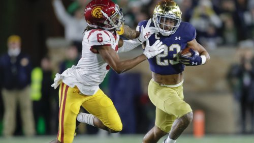 Highlights: No. 13 Notre Dame 31, USC 16 — Bo Bauer and Kyren Williams lead the Irish