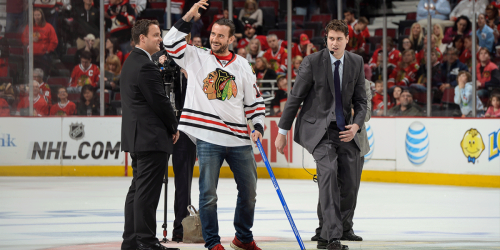 Who is the biggest celebrity Blackhawks fan?
