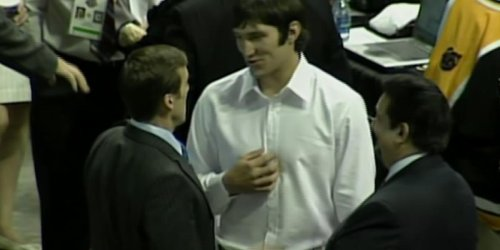 Remember when Ovi announced Backstrom in the 2006 NHL draft?