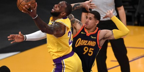 JTA explains why he was 'talking s--t' to LeBron in play-in