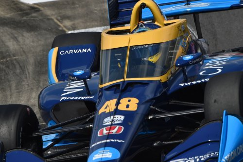 Jimmie Johnson IndyCar Watch, Race 1: 'Very happy to have finished' in debut at Barber