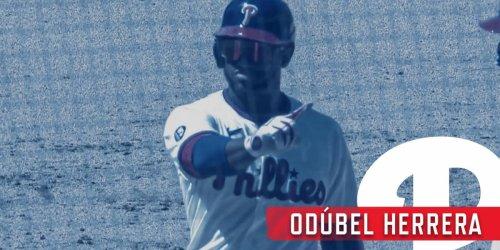 Herrera caps off huge 7-run inning with 2-run base hit