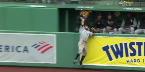White Sox' Adam Eaton makes incredible home run-saving catch