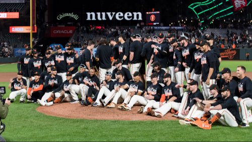 Giants become first MLB team to clinch postseason berth