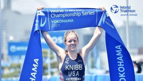 Triathletes Taylor Knibb, Morgan Pearson qualify for U.S. Olympic team