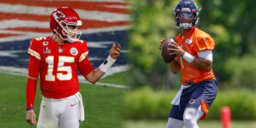 How Fields' rookie progress compares to Mahomes
