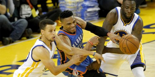 Why Draymond cites Russ when making Steph's case for MVP