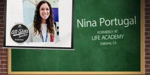 All-Star Teacher: Nina Portugal