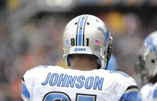 Calvin Johnson on thanking Lions in his Hall speech: I've got nothing to say