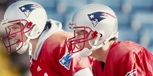 Brady on Bledsoe in 2001: 'Not going to back up a 5-11 QB'