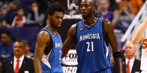 Hilarious story of KG showing Wiggins 'Gladiator' clip in 2015