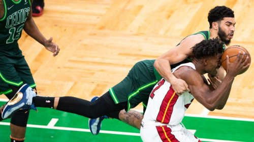 Heat secure top-six seed, force Celtics to play-in with 129-121 win