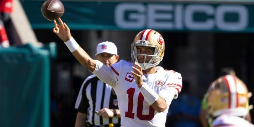 Shanahan says Jimmy G's footwork is best since joining 49ers