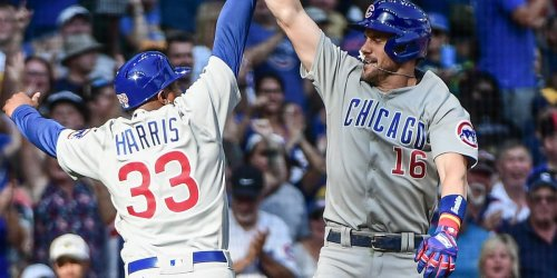 Wisdom sets Cubs' rookie home run record with 27th