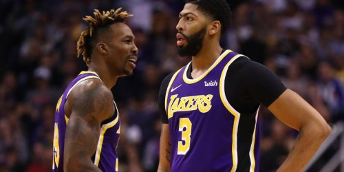 Anthony Davis, Dwight Howard get into altercation during loss