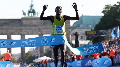 Ethiopia's Guye Adola, Gotytom Gebreslase win 2021 Berlin Marathon