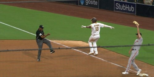 Giants win late in thrilling final, beat Padres 6-5