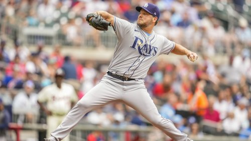 Mets acquire left-hander Rich Hill from Rays