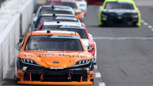 Dover Xfinity starting lineup