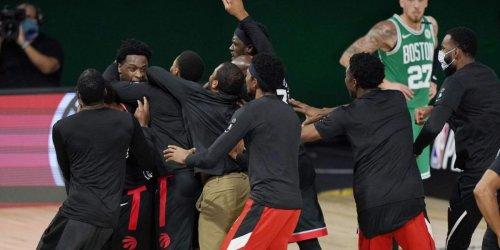 Crazy Celtics-Raptors ending stunned NBA stars on Twitter