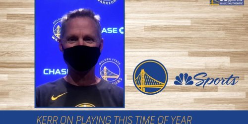 Kerr considers Warriors-Grizzlies finale a playoff game