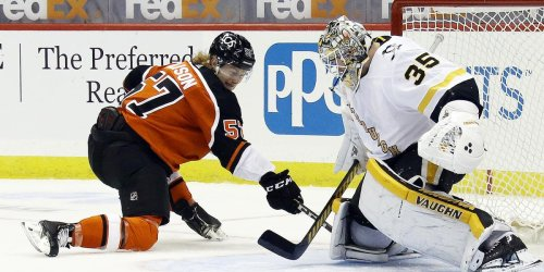 Internal competition heats up within Flyers' group of forwards