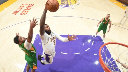 Los Angles Lakers reserves top Jazz reserves in overtime