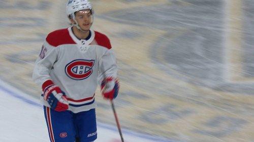 Montreal's Jesperi Kotkaniemi opens Game 5 scoring vs. Vegas Golden