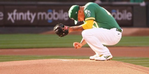 Montas' best outing of season for A's ruined by bad luck