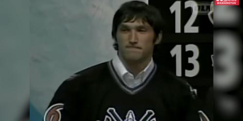 Ovi looks back on calling Backstrom's name at NHL Draft