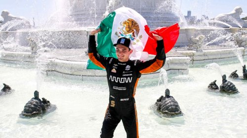 Pato O'Ward wins Race 2 of Detroit Grand Prix for second of the season, takes points lead
