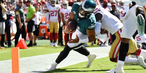 Week 2 Eagles grades by position after loss to 49ers