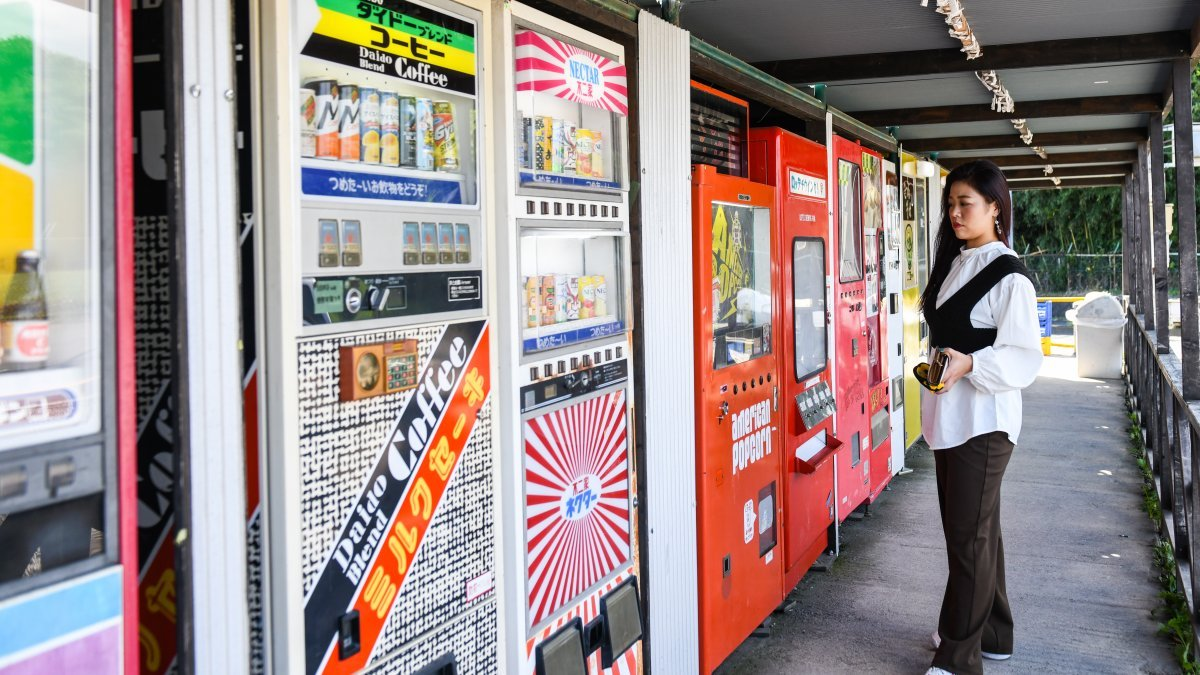 Japan's Vending Machine Culture Meets the Reality of Climate Change