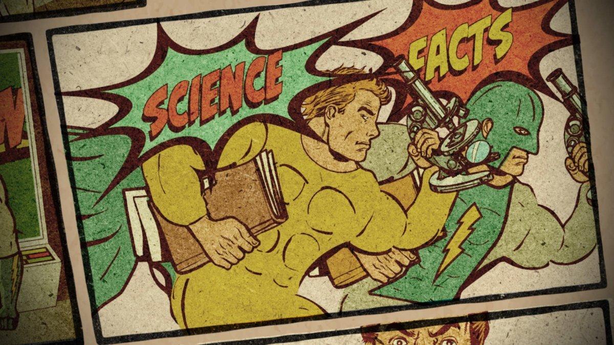 Meet 'Vaxx-Man,' the Superhero Doctor Fighting Anti-Vaxx Disinformation