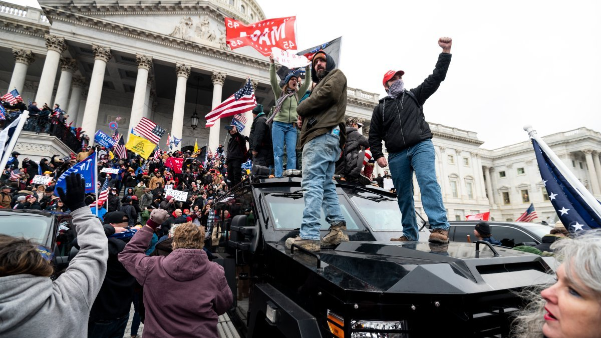 Fauci Says COVID-Deniers Are Just Like Those Downplaying the Jan. 6 Capitol Riots