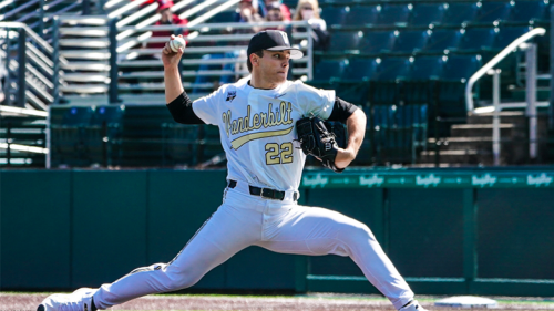 Vanderbilt's Jack Leiter is proving to be one of a kind