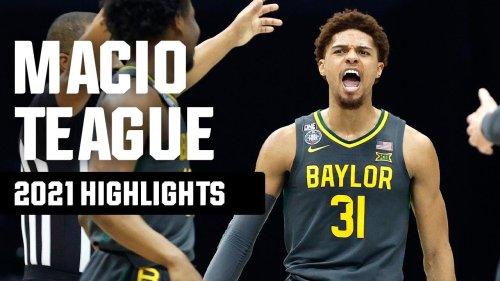 MaCio Teague's top 2021 NCAA tournament highlights