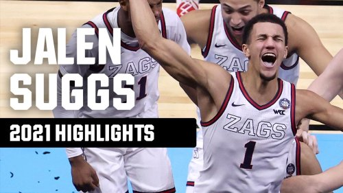 Jalen Suggs' top 2021 NCAA tournament highlights